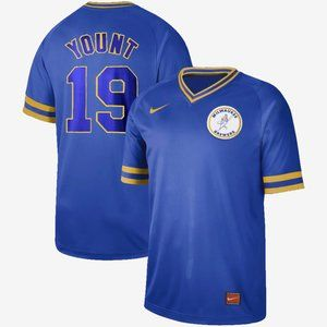 Robin Yount Milwaukee Brewers Jersey
